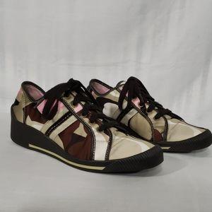 Coach Nia Wedged Sneakers